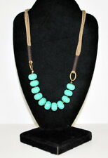 Coldwater Creek Turquoise Beaded necklace 18""