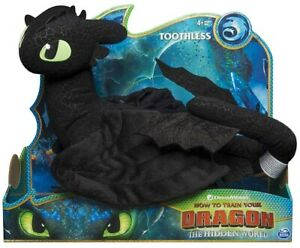 NEW Licensed DreamWorks How To Train Your Dragon 36cm Deluxe TOOTHLESS Plush Toy