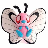 "Pink Shiny Butterfree 12"" 30cm Pokemon Anime Figure Plush Toy Doll Cute"