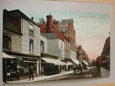 Cowgate,Peterborough, Shops, Carts, Fashion, Edwardian Postcard 1906