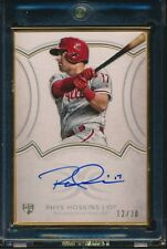 2018 Topps Definitive Gold Framed Rookie RC Auto RHYS HOSKINS Phillies 32/50
