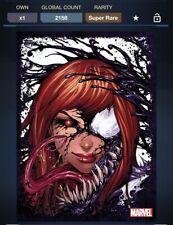 Topps Marvel Collect Digital Mary Jane Symbiote Tilt Ghost Spider Venom