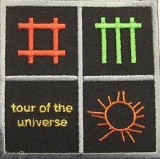 DEPECHE MODE AUFBÜGLER / PATCH #3 TOUR OF THE UNIVERSE - 8x8cm