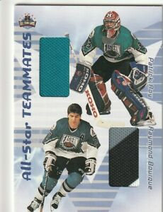 PATRICK ROY RAY BOURQUE 2001 ITG ALL-STAR TEAMMATES DUAL JERSEY 4 COLORS RARE
