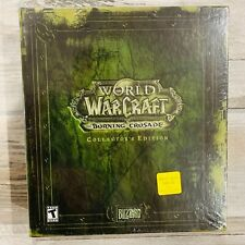 World of Warcraft: The Burning Crusade Collector's Edition. FACTORY SEALED!