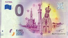 BILLET 0 EURO  FATIMA PORTUGAL  2019-2 NUMERO RADAR 979