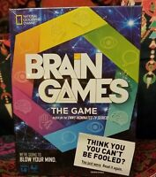 Brain Games The Game - Based on Emmy Nominated National Geographic TV Series New