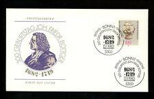 Postal History Germany Fdc #1366 Johann Friedrich Bottger Dresden China 1982