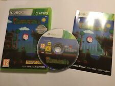 XBOX 360 GAME TERRARIA +BOX & INSTRUCTIONS COMPLETE PAL