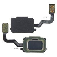 For Samsung Galaxy Note 9 Home Button Fingerprint Sensor Flex Cable Silver N960F