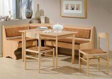 Eckbankgruppe Tischgruppe Eckbank Tisch Stühle Teilmassiv Buche Helgoland
