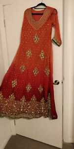 Indian/Pakistani Shalwar Kameez Maxi party/wedding Dress