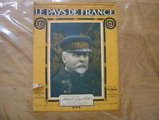 1917 WWI Amiral Gauchet LE PAYS DE FRANCE 121 caricatures WW1 guerre