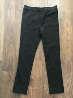 AD Womens Fit Size 8 Isabel Marant Womens Black Trousers LADIES STRETCH SMART