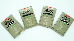 10pc Organ Needles Industrial Sewing Machine DBX1 Juki 16X231 90/14 100/16 Round