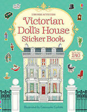 Victorian Doll's House Sticker Book by Ruth Brocklehurst NEW BOOK (P/B 2013)