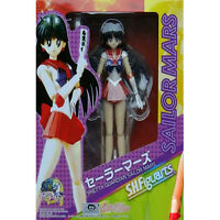 "JP Anime Pretty Guardian Sailor Mars Figuart Hino Rei 6"" Action Figure Figma Toy"