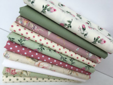 Jelly Rolls Fat Quarter 4, 5, 10 inch patchwork Squares Cotton Fabric Code JR10