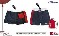 F1 Red Bull Racing Paddock Swim Shorts Pepe Jeans + mini  bag MENS XXL BNWT