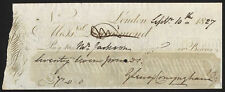 MM. Drummond, Londres, 1827, signé George Lenox Conyngham la jeune