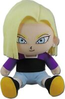 Great Eastern - Dragon Ball Super - Android 18 Sitting Plush, 7-inches
