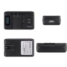 Universal LCD Indicator Travel Wall Battery Charger For Cell Mobile Phone US Hot