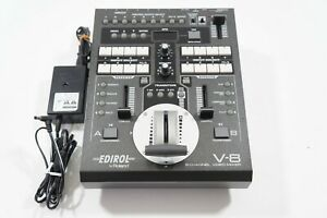Edirol V-8 8 Channel Video Mixer Video Switcher Roland VJ Video Editor