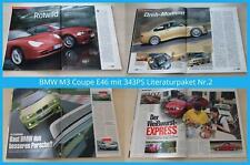 BMW M3 Coupe E46 mit 343PS Literaturpaket Nr.2