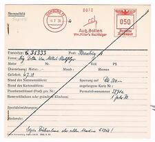 Schiff Hamburg 1939 Aug Bolten Wm Miller Archivkarte Unikat