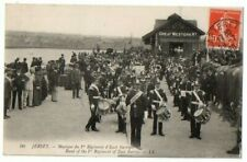 More details for levy postcard east surrey regimant band jersey channel islands ll no.90 used1920