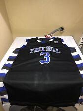One Tree Hill Nathan Scott Ravens Basketball Jersey #3 Black Mens Small New Nwt