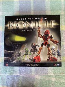 LEGO Bionicle Quest For Makuta Adventure Board Game 100% Complete (2001)