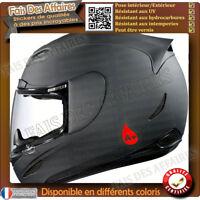 2 stickers autocollant rhesus Groupe Sanguin O, A, B, AB casque moto , skie auto