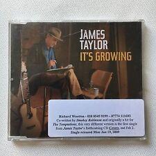 JAMES TAYLOR - IT'S GROWING 2 TRACKS PROMO CD