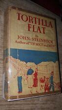 Tortilla Flat by John Steinbeck, 1935, Hardcover & Dust Jacket
