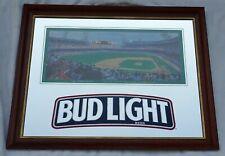 "Rare Bud Light Detroit Tiger Stadium Mirror 35� 5/8 x 27"" 3/4 Awesome Condition"
