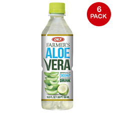 OKF Farmer's Aloe Vera de noix de coco saveur Boisson - 16.9 Oz (environ 479.10 ...