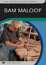 NEW Sam Maloof: Woodworking Profile. DVD edition by Taunton Press