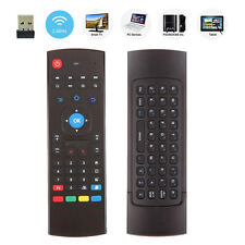 5PCS MX3 2.4GHz Wireless Air Fly Mouse Keyboard Remote Control For Android TV PC