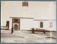 Tunisie, Le Bardo (باردو). La Mosquée Principale  Vintage citrate print. Photo J