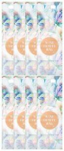 Wine Travel Bag - Floral Art Design  - Pack of 8