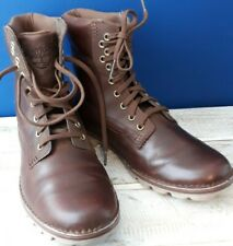 Womens Timberland Earthkeepers Brookton Brown 6-Inch Classic Boots Size UK 6