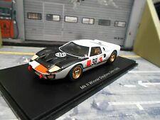 FORD GT40 V8 24h Daytona 1966 #98 Miles Ruby Winner Shelby Spark Resin 1:43