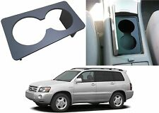 Custom Made Cup Holder Insert Divider 2002-2007 Toyota Highlander New Free Ship