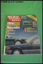 AMS Auto Motor Sport 1/88 BMW DB Audi 80 VW Golf Camaro Iroc Z