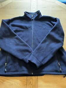 Timberland Men's Fleece Jacket, XL, Blue. Warm But Lightweight! Excellent Item.