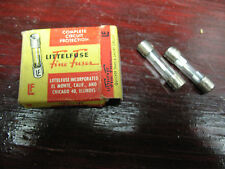 LITTLE FUSE  (2) LITTLEFUSE  USA ORIG.  14 AMPS  LIKE  NEW