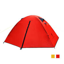 Lightweight 1 Person Tent - Backpacking Tent, GeerTop Tent - RED - Just 1.85kgs