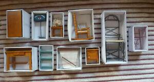 20 x Puppenstubenmöbel + Zubehör - Dekoration