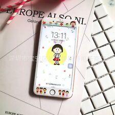 """Vidrio Templado Film Caricatura Adorable protector de pantalla cubierta para iPhone 7 4.7"""" Reino Unido"""